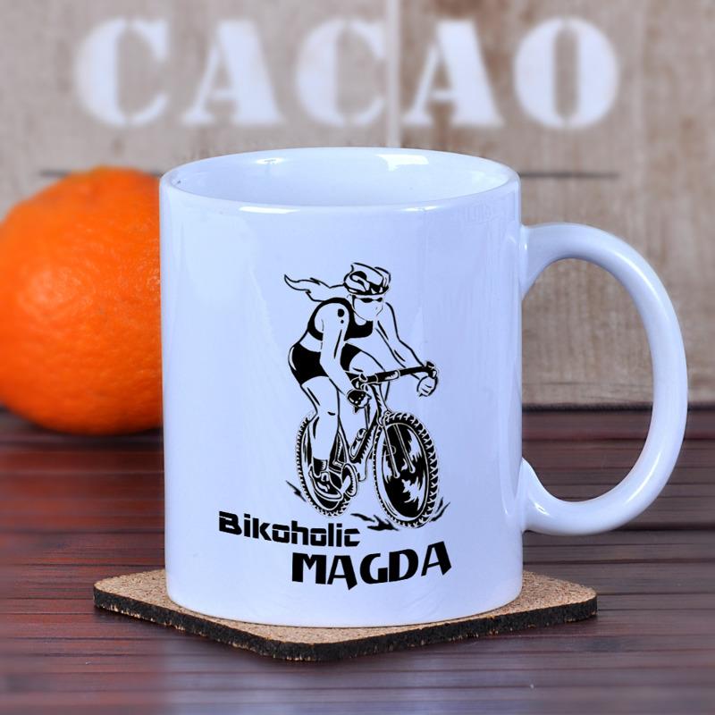 c82f838163a2cd Kubek dla kolarki / rowerzystki damska | Specially4u.pl - Prezenty ...