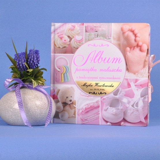 """Album """"Pamiątka maluszka""""- dla dziewczynki"""