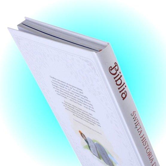 Biblia - Pamiątka Chrztu - Anioł