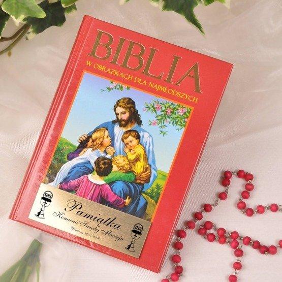 Biblia- Pamiątka Komunii Świętej