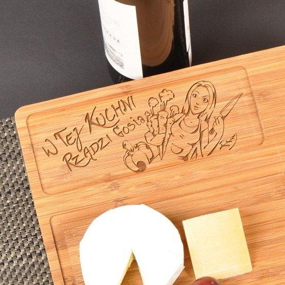 Deska kuchenna dla Pań- W tej kuchni rządzi...
