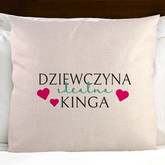 Dwie poduszki - Dziewczyna idealna i Chłopak doskonały