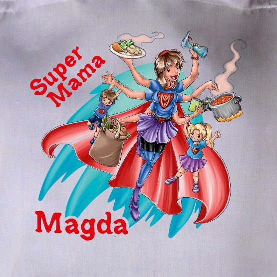 "Fartuszek ""Super Mama"""