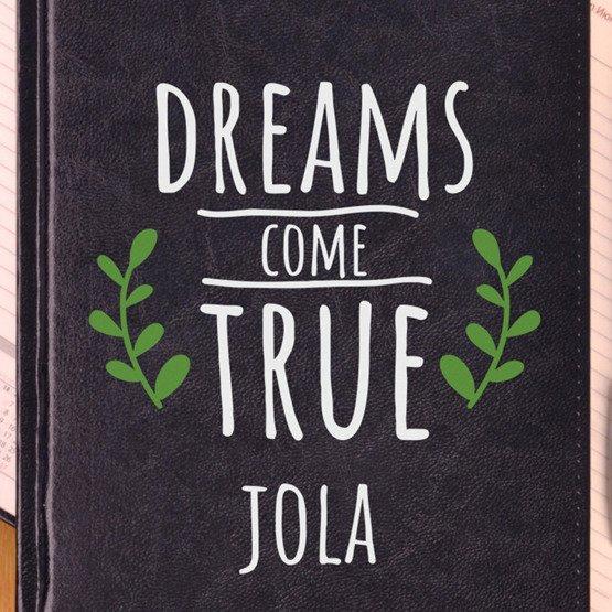 Kalendarz z nadrukiem - Dreams come true