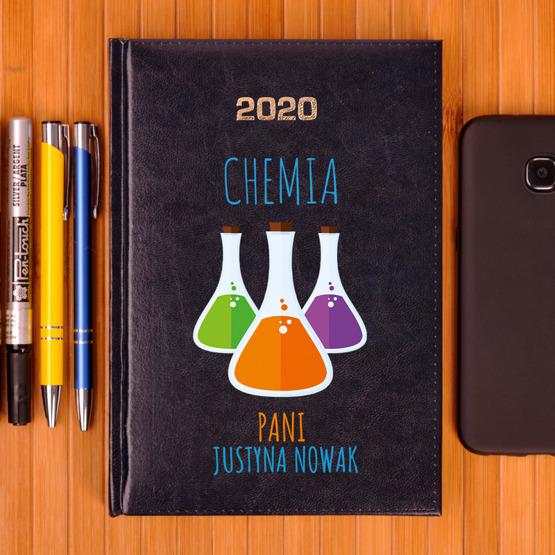 Kalendarz z nadrukiem dla nauczyciela-chemia