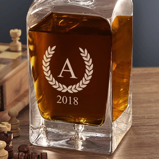 Karafka do whisky- Monogram