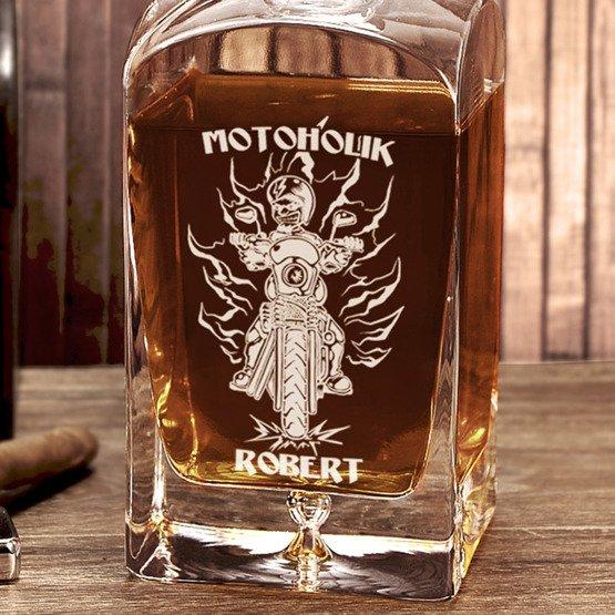 Karafka do whisky- Motoholik
