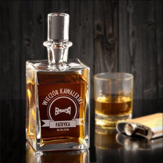 """Karafka do whisky """"Wieczór Kawalerski"""""""