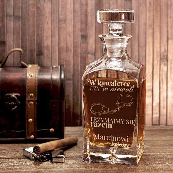 """Karafka do whisky """" - na wieczór kawalerski"""