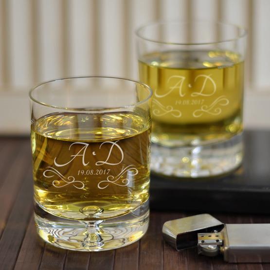 Komplet szklanek w pudełku na ślub lub rocznicę