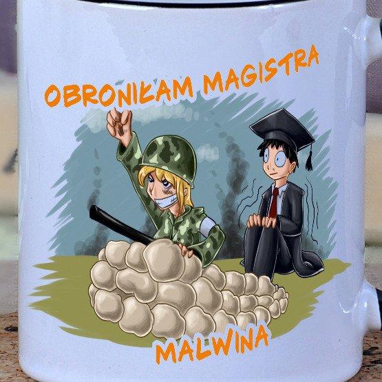 Kubek dla Pani magister