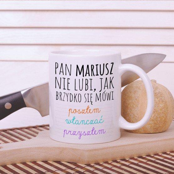 Kubek dla nauczyciela - Język polski