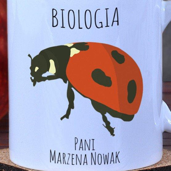Kubek dla nauczyciela biologii