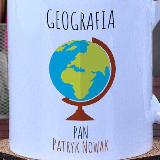 Kubek dla nauczyciela geografii