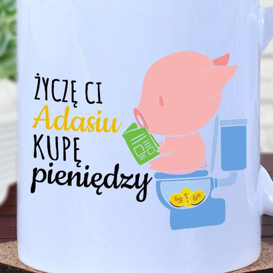 """Kubek- """"kupa pieniędzy"""""""