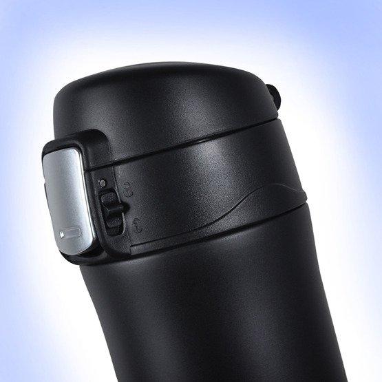 Kubek termiczny 450ml czarny-przed i po kawie