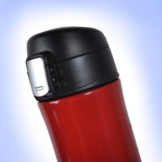 Kubek termiczny 450ml czerwony -& dla zakochanych
