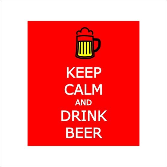 Kufel Keep Calm and Drink Beer
