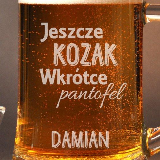 """Kufel na Wieczór Kawalerski- """"Jeszcze kozak..."""""""