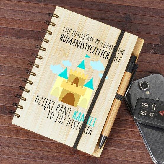 Notes Bambusowy dla nauczyciela - Historia