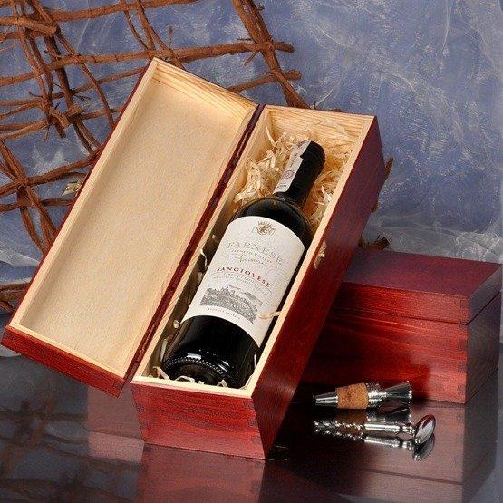Pudełko na wino- dla Młodej Pary - motyw drzewo