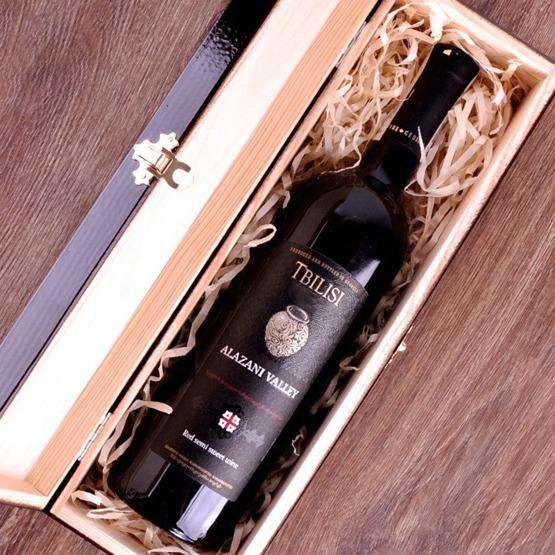 Pudełko na wino z okazji urodzin