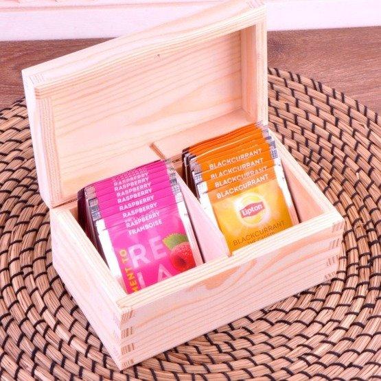 Pudełko z herbatą Lipton - Goździki