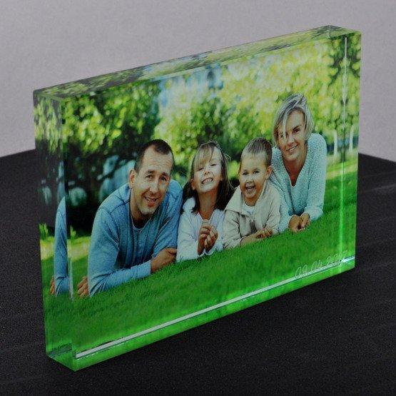 Szklana statuetka z Twoim zdjęciem i grawerem