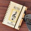 Notes bambusowy dla nauczyciela muzyki